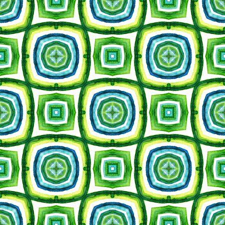 Chevron Geometric  African, Peru, Mexico, Navajo Seamless Pattern.  Geo Surface. Geo Carpet. Blue, Green, Lime, Mint Texture. Woven .