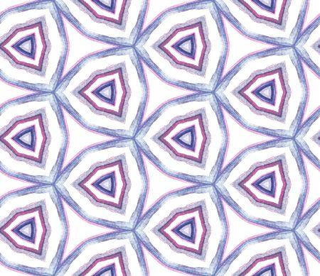 Ethnic Texture. Pattern. Ethnic Texture. Old Rug. Purple, Pink Element. Geometric Ornament. Banco de Imagens