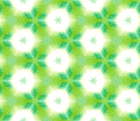 Chevron Geometric Hand Drawn Painted.  Spots, Ikat, Tie Dye, Batik Seamless Pattern.  Green, Lime, Mint Geo Tribal Vintage Canvas. Geometry Medallion Texture.