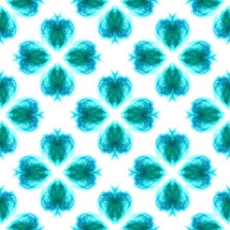 Chevron Geometric Hand Drawn Painted.  Bohemian, Hippie, Boho, Gypsy Seamless Pattern.  Modern Abstract. Summer Folk Carpet. Blue, Indigo Motif. Geometry Element. Stock Photo