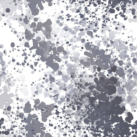 Distress Seamless Pattern. Fashion Concept. Distress Print. Surface Textile. Ink Stains. Spray Paint. Splash Smudges Artistic Creative Vector illustration. Endless Repeat Abstract Background.