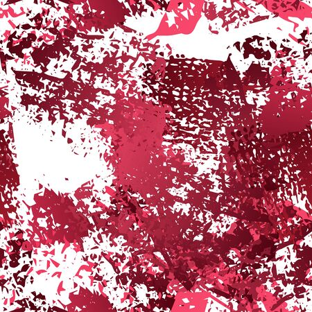 Splatter Brush Stroke Surface. Watercolor Endless Repeating Elements. Artistic Cool Splatter Pattern. Black and White Watercolor Overlay Surface. Abstract Brush Vector illustration. Illusztráció