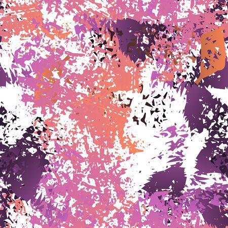 Splatter Brush Stroke Surface. Watercolor Endless Repeating Elements. Splash Print. Artistic Creative Black and White Watercolor Overlay Surface. Abstract Brush Vector illustration.