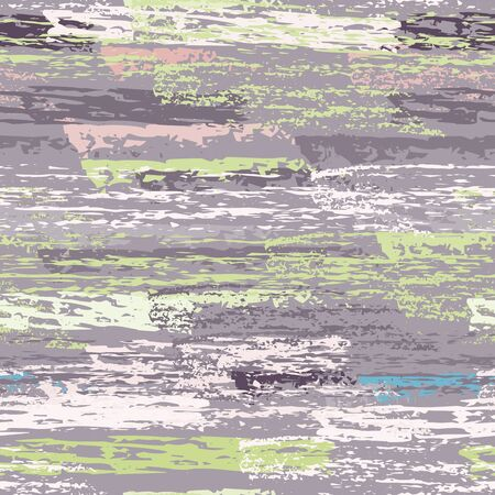 Worn Texture Chalk Coal Surface. Pinstripe Endless Repeating Elements. Chalk Pattern. Summer Khaki and Camo Backdrop. Chalk Coal Overlay Surface. Abstract Brush Vector illustration. Illustration