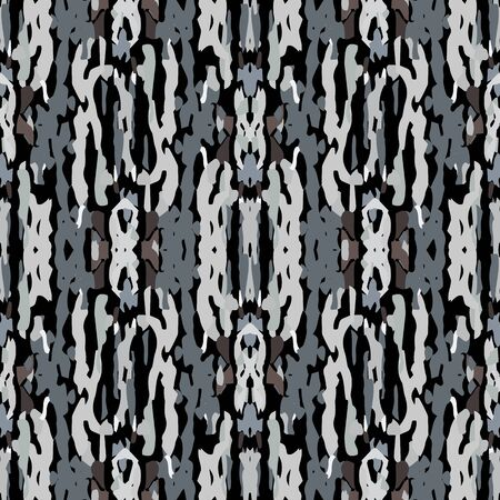Texture, Shibori. Watercolor Staining Seamless Pattern. Traditional Art. Hand Drawn Painted. Black Gray Ancient Summer Old Cloth. Natural Ornamental Paint Tile. Vektoros illusztráció