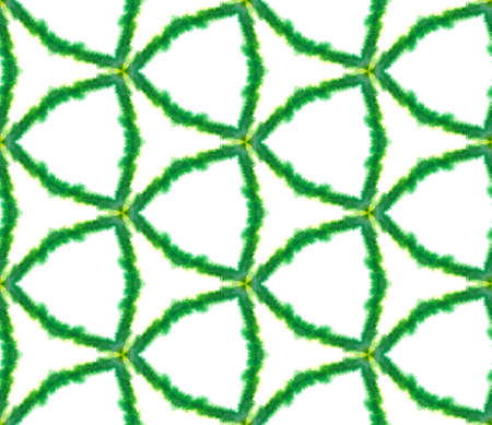 Geo Surface. Endless Repeat Painting.  Talavera, Azulejos, Portugal, Turkish Ornament. Ethnic Surface. Old Home Decor. Green, Mint,  Pattern. Organic Art. 版權商用圖片