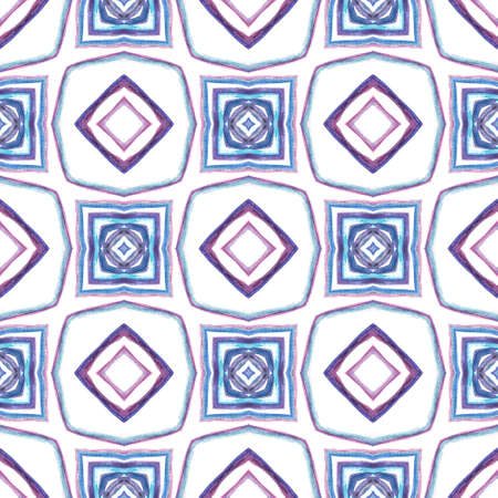 Traditional Graphic Hand Drawn Painted.  Celtic, Polish, Balto-Slavic Seamless Pattern. Geo Surface. Folk Embroidery. Pink, Purple Element. Natural Ornament. 免版税图像