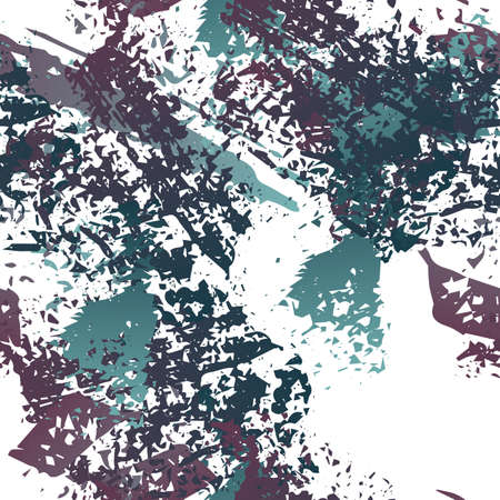 Splash Seamless Pattern. Fashion Concept. Distress Print. Maroon, Gray Illustration. Modern Surface Textile. Ink Stains. Spray Paint. Splash Blots. Artistic Creative Vector Background.