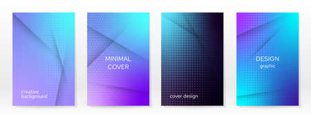 Minimal Poster. Pastel Soft. Blue Gradient Set. Graphic Color Background. Blurred Mesh Texture. Vector Modern Banner. Abstract Bright Wallpaper. Gradient Technology Cover. Blue Mobile Template Design. 矢量图像