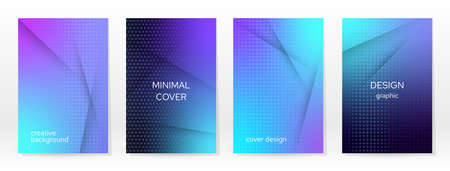 Minimal Poster. Pastel Soft. Blue Gradient Set. Graphic Color Background. Blurred Mesh Texture. Vector Modern Banner. Abstract Bright Wallpaper. Gradient Technology Cover. Mobile Template Design.