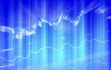 Financial Stock Market Data Stock Photo - 8127344