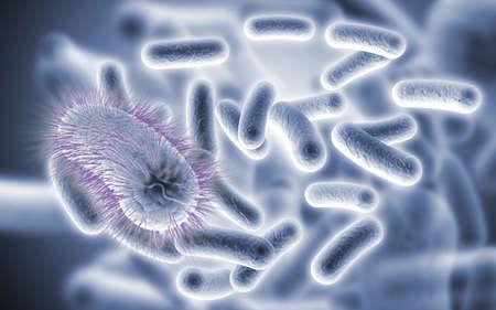 Diseased Microbial Bacteria