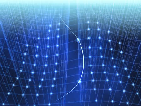 Networking Abstract Background Image Stock Photo
