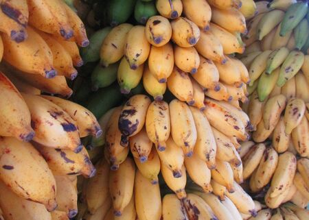 Photogragh taken Purchasing one kilo of banana