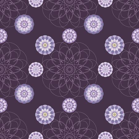 oscillation: Abstract seamless texture with stylized florish pattern.