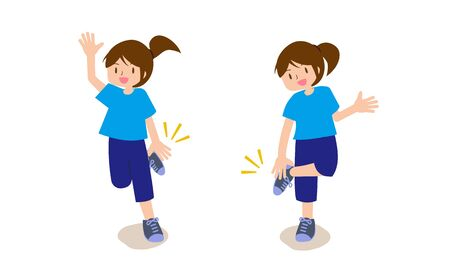 Woman Doing Hand Clap Exercise 2