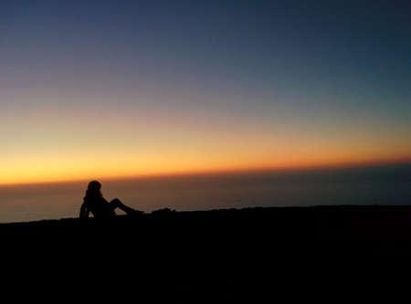 lining: Beautiful Sunset Lining Stock Photo