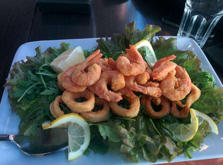 sumptuous: Golden Fried Prawns