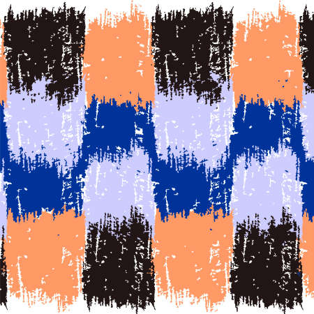 4 つのカラーでグランジ パターン