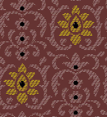 ornamental pattern Illustration