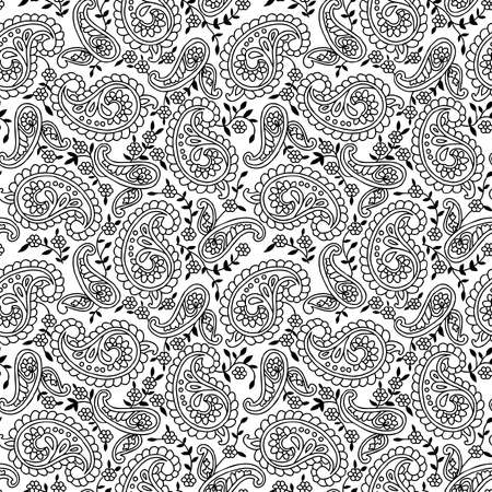 tile pattern: Paisley background.