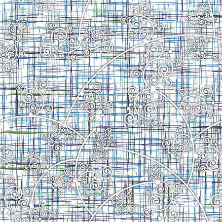 Tartan plaid pattern seamless background. Multicolored dark check plaid in blue, red, and yellow for flannel shirt, blanket, throw, or other modern textile design. Herringbone woven texture.
