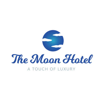 Moon Hotel Luxury Spa Salon Logo