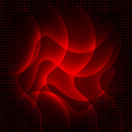 angled: Abstract dark red curves background Illustration