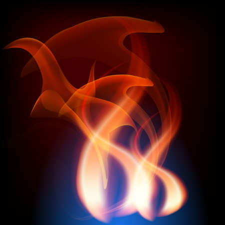 fireside: Abstract fire background