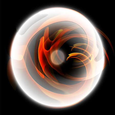 Black circle of fire