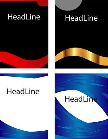 leaflet design: Book cover leaflet design