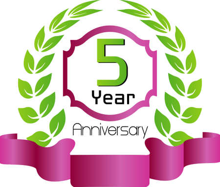 tenth birthday: Celebrating 5 Years Anniversary