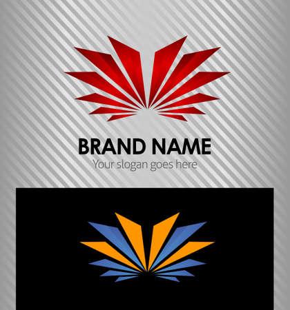 Creative logo template design Vector