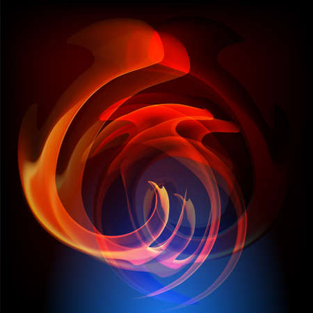 stock photograph: Flames of Fire vector