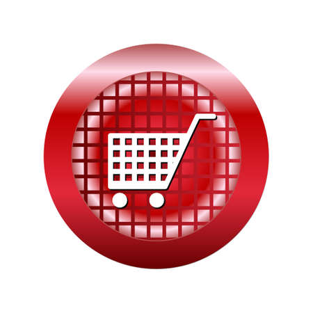 Icon of shopping cart for web and mobile applications