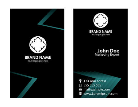 Vector business card templates Vector