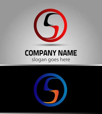lettre s: Les �l�ments du mod�le de conception de l'ic�ne de lettre