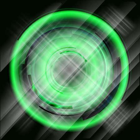 vibrant: Vibrant hi-tech style design. vector Illustration