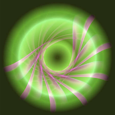 green swirl: Green swirl background Stock Photo