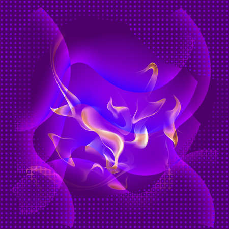 girds: Purple abstract fire texture background