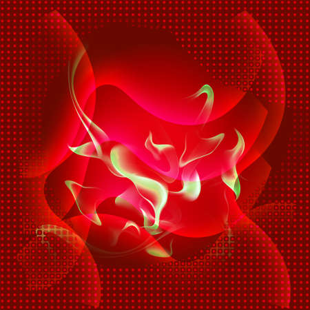 girds: Red abstract fire texture background