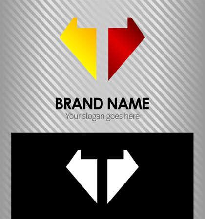 Letter T logo vector alphabet shape concept type as logo t Illustration