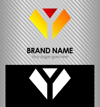 diamond letter: Letter Y logo icon design template elements