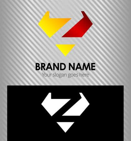 buchstabe z: Buchstabe Z-Logo Icon Design-Vorlage Elemente