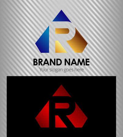 Vector  Letter R logo icon
