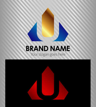 Vector  Letter U logo icon Vector