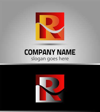r: Icon Letter R logo symbol