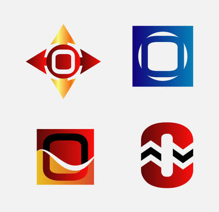 alphabetical: Alphabetical  Design Concepts. Letter O set