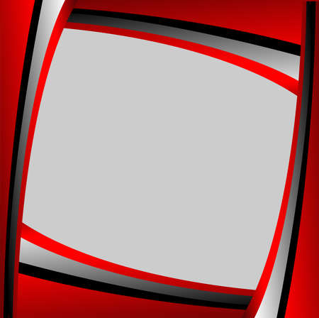 message text: Red background gray background design line. message text and message board for design