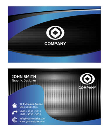 iq: Business cards template